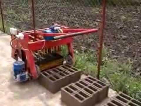 masina de boltari hantesti concrete block making machine