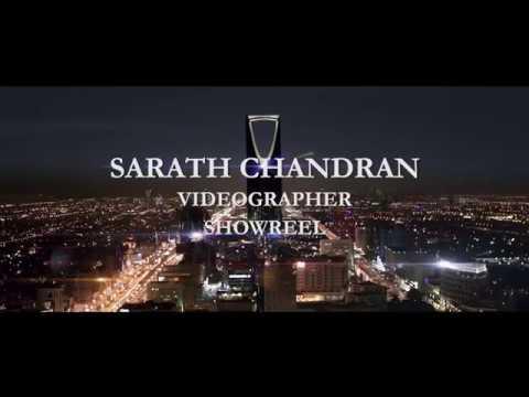 Sarath Chandran Videographer Showreel 2017