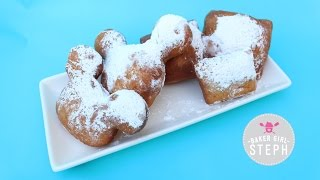 HOW TO MAKE BEIGNETS || MICKEY BEIGNETS || BAKER GIRL STEPH