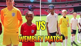 ENGLAND VS ENGLAND | Tekkerz kid vs Romello Wembley Match