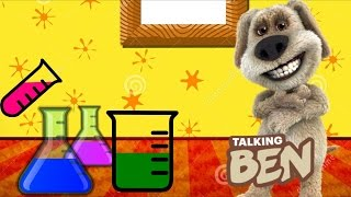 Talking Ben the Dog - Talking Ben in Chemistry Laboratory Full - Funny Dog