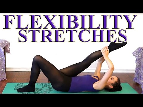 Flexibility Stretches For Dancers Cheerleaders Ballet Gymnasts & The Splits Beginners Exercises