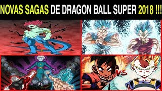 NOVO ARCO DRAGON BALL SUPER em 2018 !!! Saga UUB ou MAKAISHINS | Teorias