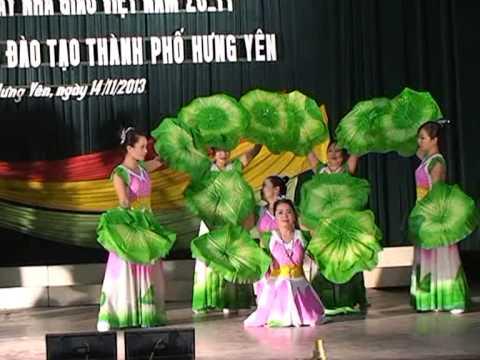 Múa Người về thăm quê Tiết mục hội diễn 20 11 2013 của GV trường THCS Quảng Châu Hưng yên