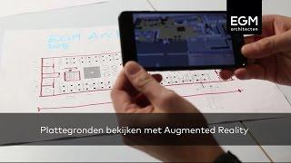 Plattegronden bekijken met Augmented Reality