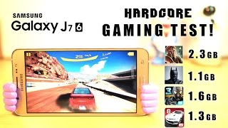 GALAXY J7 2016 Hardcore GAMING Review, Overheating, Battery- Masterpiece!