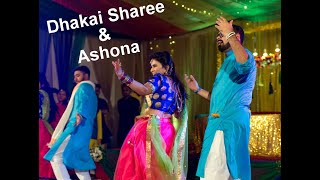 Dhakai Sharee & Ashona Holud Dance Performance