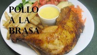 RECETA: POLLO A LA BRASA CASERO (Peruvian Roasted Chicken)