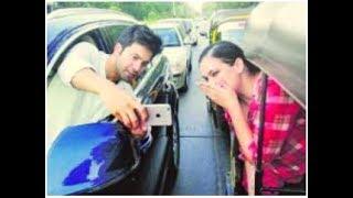 সেলফি তুলে জরিমানা গুনলেন বরুন! | Mumbai Police warns Varun Dhawan for talking selfie on the road!
