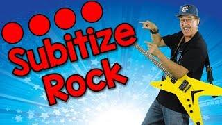 Subitize Rock (sŭbitize) | Math Song for Kids | Jack Hartmann