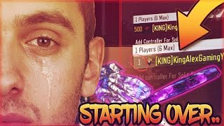 RESETTING BLACK OPS 3 GOD ACCOUNT... BO3 - ROAD TO