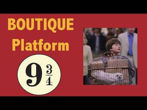 BOUTIQUE HARRY POTTER : PLATFORM 9 ¾