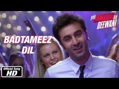 Xxx Mp4 Badtameez Dil Full Song Yeh Jawaani Hai Deewani Ranbir Kapoor Deepika Padukone 3gp Sex