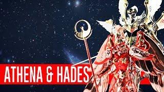 Athena & Hades - Saint Cloth Myth   Out of da Box