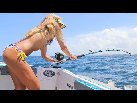 Xxx Mp4 Shark Week Massive Shark Caught By Fishing Girl Deep Sea Fishing 3gp Sex