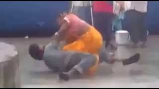 Indian Kinner Fight at Sojat Road Raillway Station
