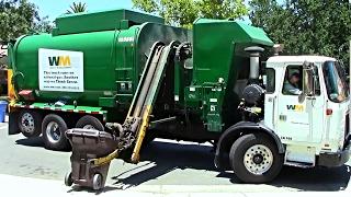 Various Trucks - 1 Hour of Garbage Trucks In Action