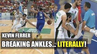 Kevin Ferrer Breaking Ankles...Literally!!!