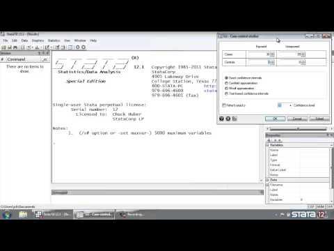 Stata® tutorial: Odds ratios calculator