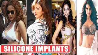Bollywood Actress Breast Implants | Small BOOBS To Big BOOBS