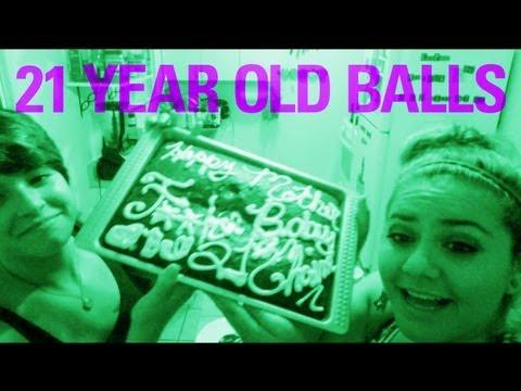 21 YEAR OLD BALLS
