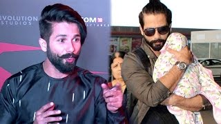 Shahid Kapoor Finally Reacts On Why He Hides His Baby Misha