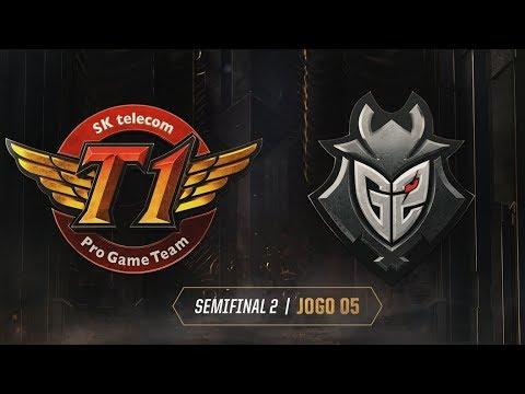 Xxx Mp4 MSI 2019 Semifinal 2 SK Telecom T1 X G2 Esports Jogo 5 18 05 2019 3gp Sex