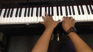 Face Au Vent by Anggun - Piano Instrumental Cover by Kesthi FS.