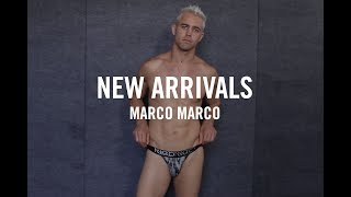 2017 | Mens Fashion in Underwear | New Arrivals: Marco Marco