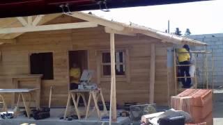 Construcción casa de madera Modelo Aicha