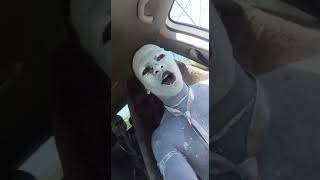 A Must Watch, U Mkhwetha drives a car and shouting at girls passing by