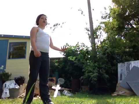 Jaimee's way how to do a cartwheel Xxx