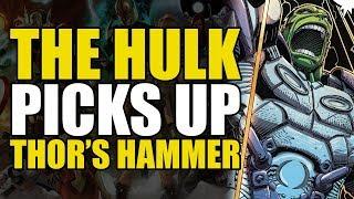The Hulk Picks Up Thor