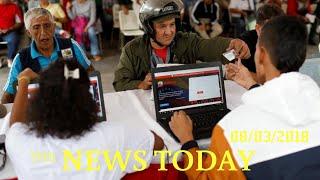 Crisis-hit Venezuela Begins Car Census, Critics Fret Fuel Rationing Ahead | News Today | 08/03/...