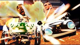 [SFM/FNAF] Slendrina Granny Hello Neighbor Fmaf Ultimate Custom Night GO Kart Battle