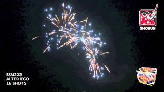 ALTER EGO SSM222 Shogun Fireworks by Red Apple Fireworks