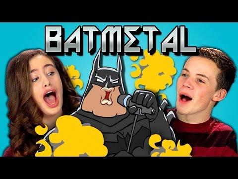 TEENS REACT TO BATMETAL & BATMETAL RETURNS