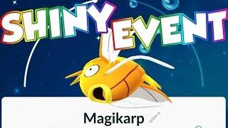 Pokemon GO SHINY POKEMON EVENT!