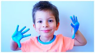 Learn Colors with the Finger Family Song - Nursery rhymes Fun learning colors for kids