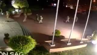 Darbeci Askerlerin AKOM Bİnasına Saldırı Anı