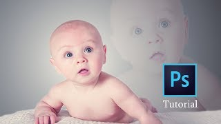 Photoshop cc Tutorial : How to Change the Background a Baby   Photoshop Baby Portrait  