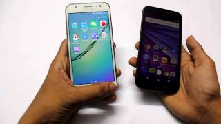 Galaxy j5 vs Moto G3 Comparison War