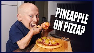 PINEAPPLE ON PIZZA? BEST HOMEMADE HAWAIIAN PIZZA   Cooking with Verne