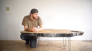 Modern Live Edge Coffee Table   Modern Builds   EP. 24