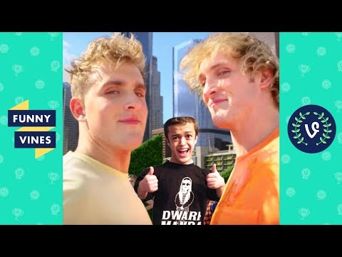 Ultimate Jake and Logan Paul Brothers ft. Dwarf Mamba Vine Comp March 2018 Funny Vines V2