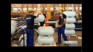 Iran CNG Storage for vehicles production توليد كپسول گاز براي خودرو ايران