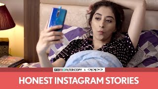 FilterCopy | Honest Instagram Stories | Ft. Kritika Avasthi and Rohan Shah