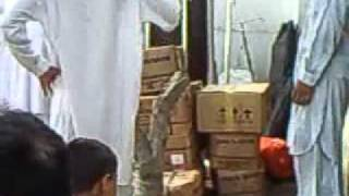 Food Provided by Pak Navy and Medical Camp too...3gp