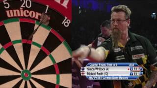 Simon Whitlock v Michael Smith - Quarter-Finals - HappyBet German Darts Masters