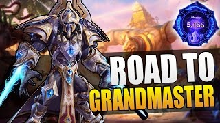 Artanis - nubby vs grubby // Road to Grandmaster S3 // Heroes of the Storm